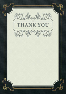 Thank You Card template #372