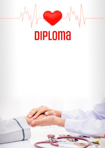 Diploma template «Doctor»